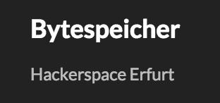 Bytespeicher.org